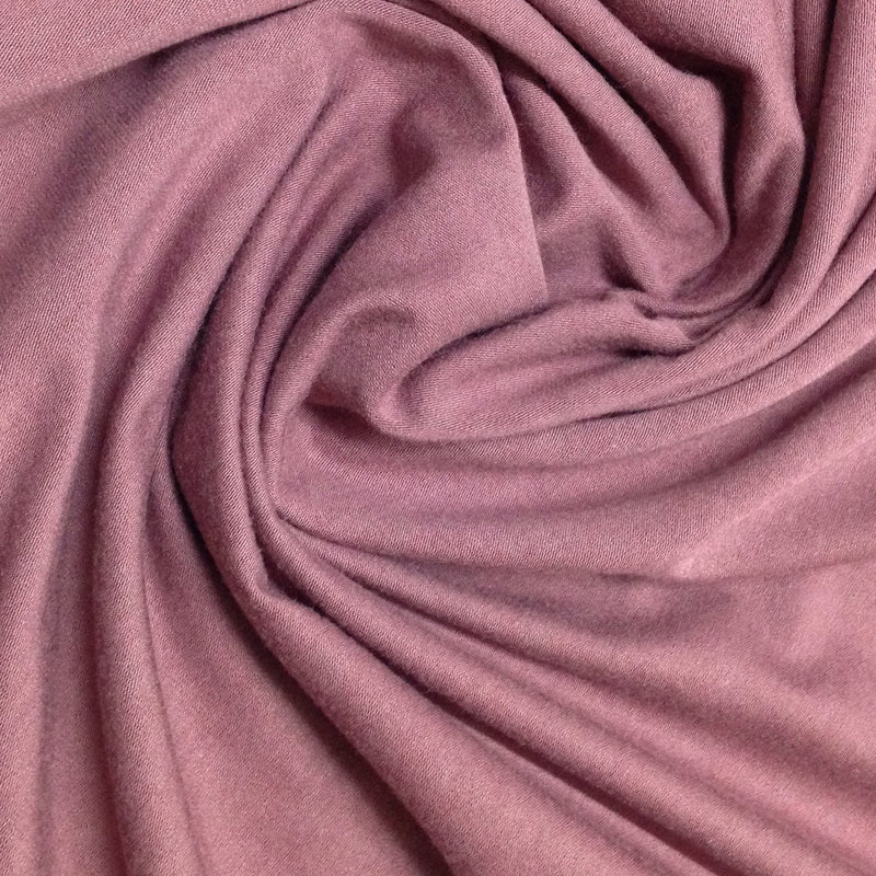 Rose Brown Bamboo Stretch Fleece