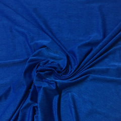 Royal Blue Space Dye on Poly/Spandex Jersey
