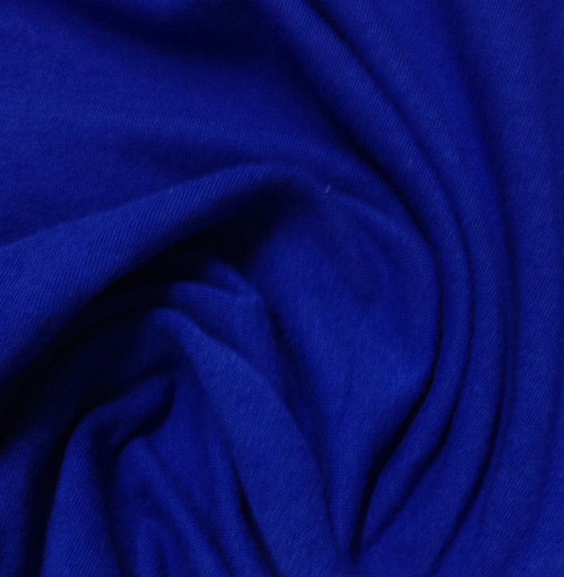Royal Blue Cotton/Spandex Jersey