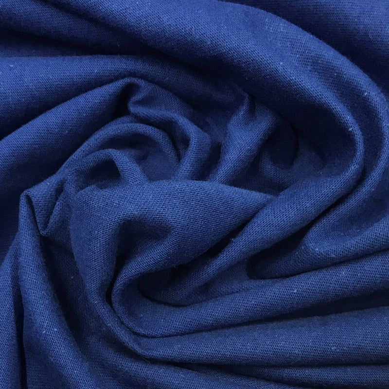 Royal Blue Organic Cotton Jersey