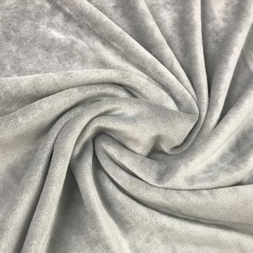 Silver Bamboo Velour, $8.90/yd -Rolls