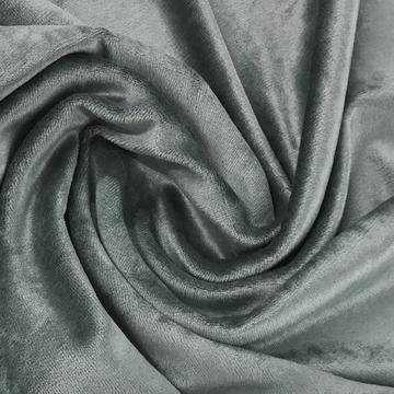 Steele Gray Bamboo Velour, $8.90/yd -Rolls