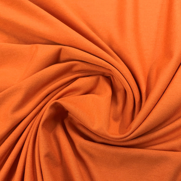 Taft Orange Rayon/Spandex Jersey