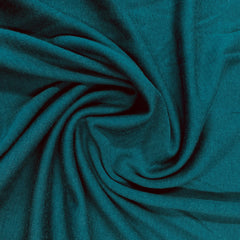 Teal 100% Merino Wool Washable Interlock