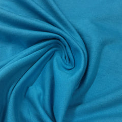 Turquoise Organic Cotton Jersey