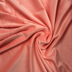 Sherbet Cotton Velour