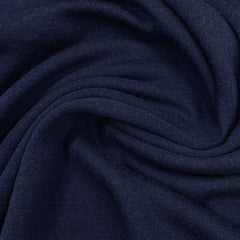 Twilight Blue 100% Merino Wool Washable Interlock