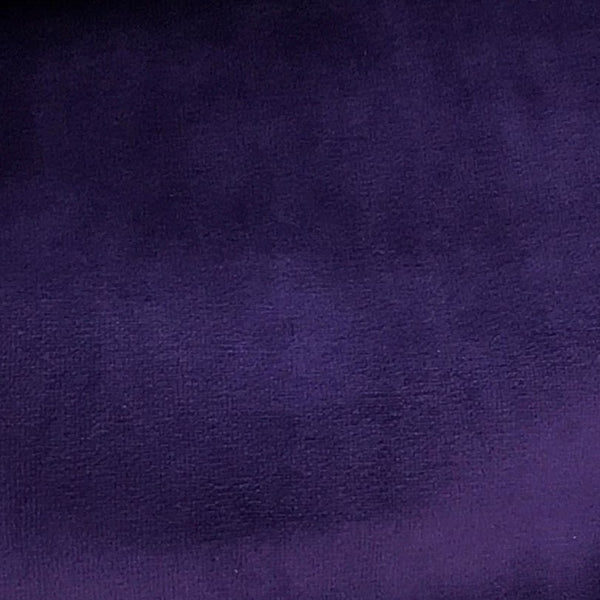 Purple Wine Cotton Velour