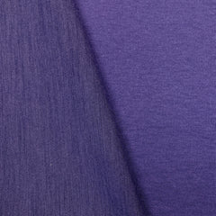 Violet and Lilac Double-Sided Merino Wool Jersey
