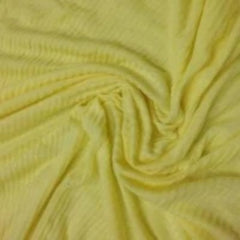 Yellow 2x2 Cotton/Poly Rib Knit