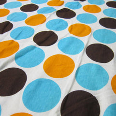 Anita G Big Dots on White Cotton Jersey