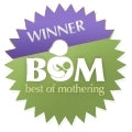 Best of Mothering Badge