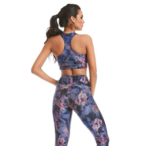 Night Flower Top | Spectral Body | Yoga Bra Top