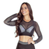 see through mesh crop top