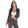 plus size womens tracksuits - grey