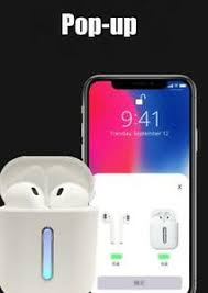 Pink Airpods Pop up screen