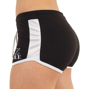 crossfit booty shorts black