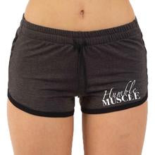 crossfit booty shorts grey
