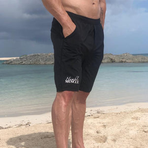 mens yoga shorts with liner