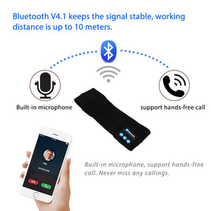 Bluetooth Audio Speaker Sports Sweatband / Headwear Strap