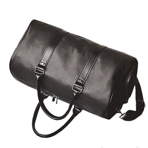Best Leather Duffle Bag - Bottom View
