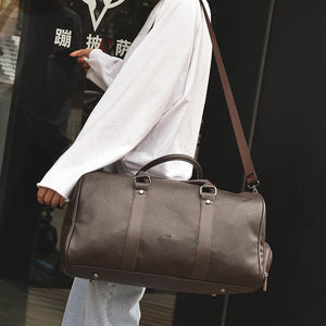 Best Leather Duffel Bag - Brown