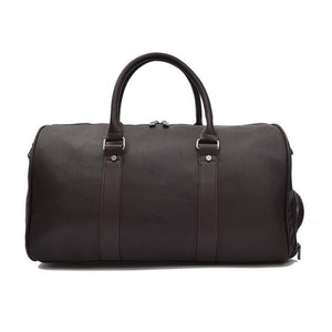 Best Leather Duffle Bag - Front View