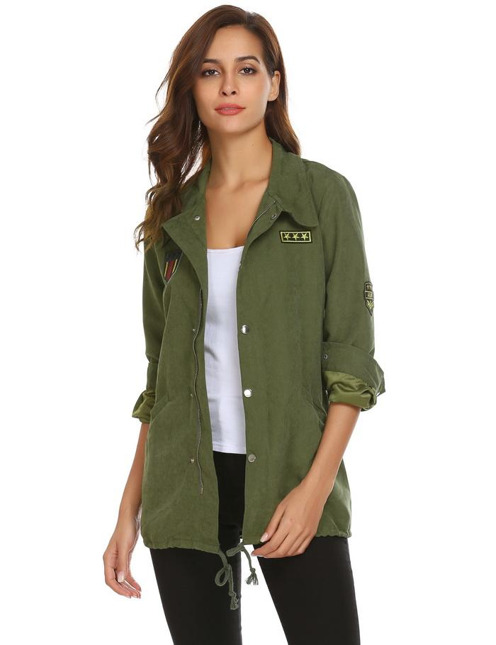 Women's Military Jacket