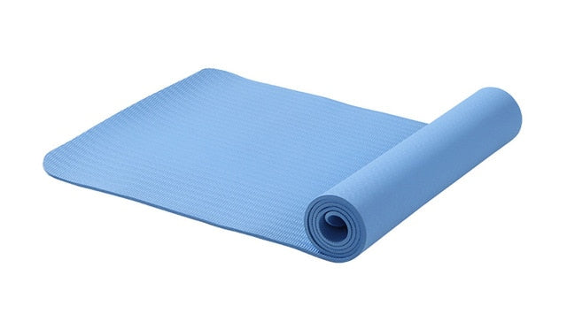 Hot Yoga Mat Rolled Up