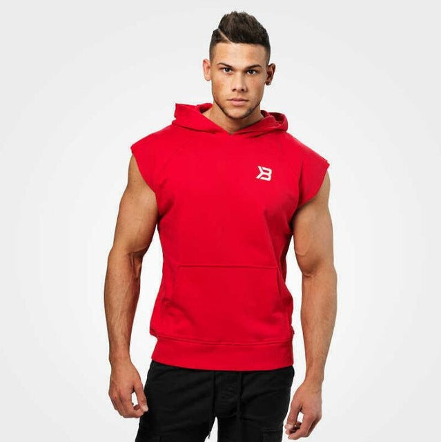 Bodybuilder Hooded Tank