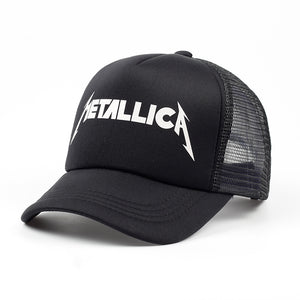 Metallica trucker hat - black