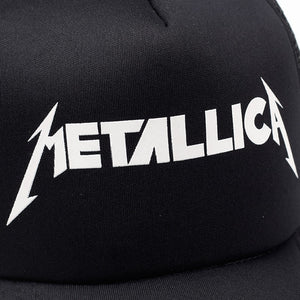 Metallica trucker hat - closeup