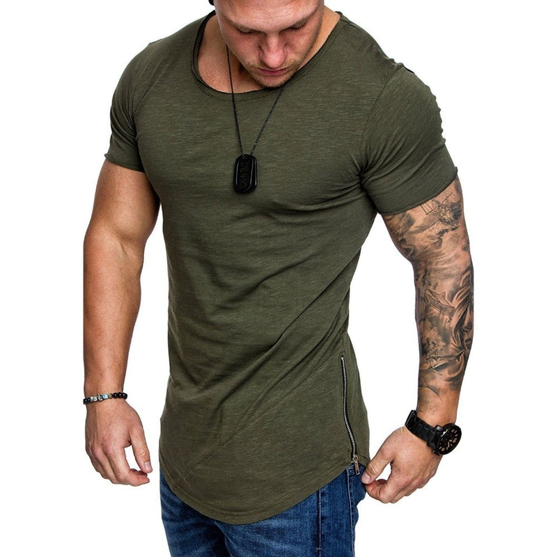 Side Zip Shirt