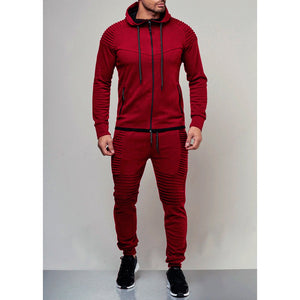 Moto Tracksuit - Red