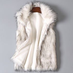 White Fur Vest - Main