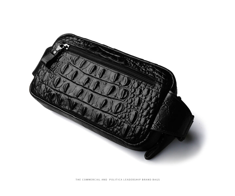 Men's Alligator Waist Pack