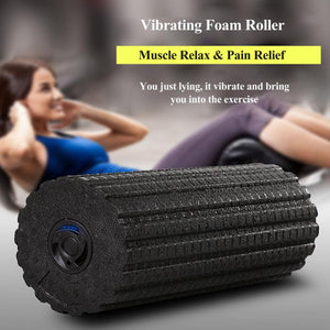 Vibrating Foam Roller - Woman