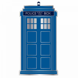 Badge Docteur Who Tardis