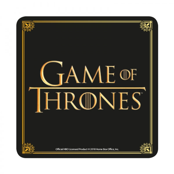 Sous-verre Game of Thrones logo