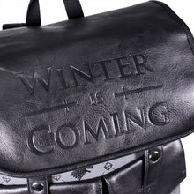 Charger l'image dans la galerie, GAME OF THRONES Sac à dos Stark Winter is coming