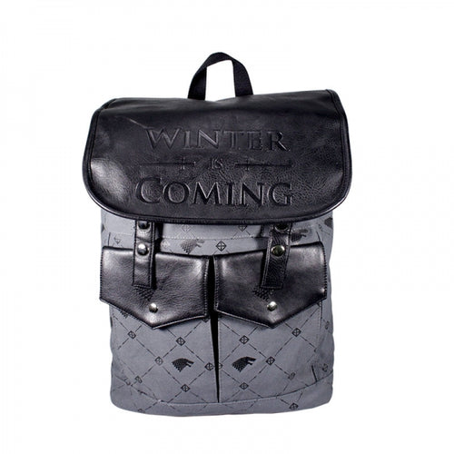 GAME OF THRONES Sac à dos Stark Winter is coming