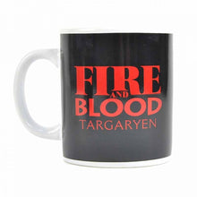Charger l'image dans la galerie, Mug Game of Thrones maison Targaryen