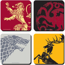Charger l'image dans la galerie, Sous-verres Game of Thrones