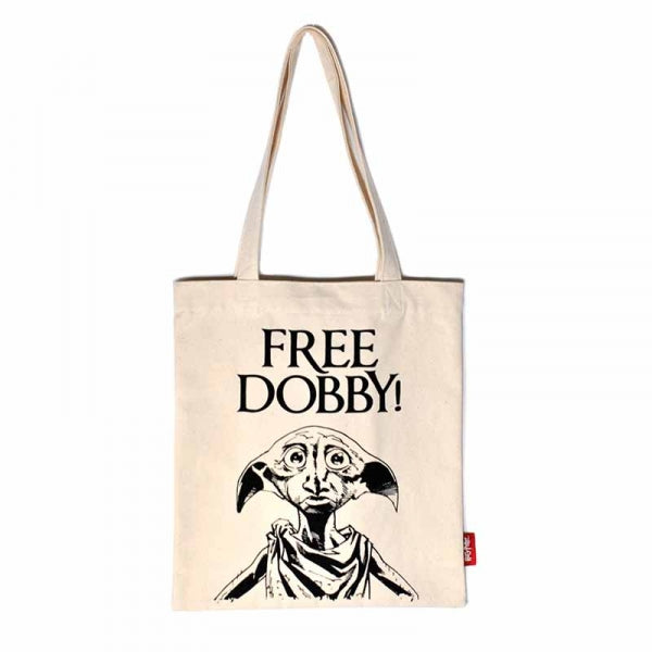 Sac shopping Harry Potter Dobby en coton