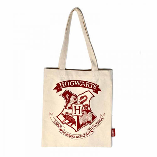 Sac shopping Harry Potter Poudlard en coton