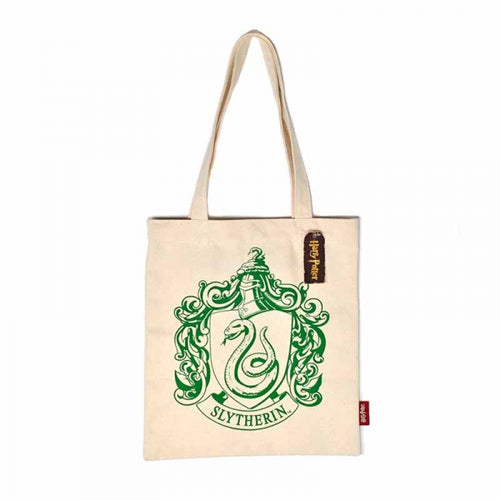 Sac shopping Harry Potter Serpentard en coton