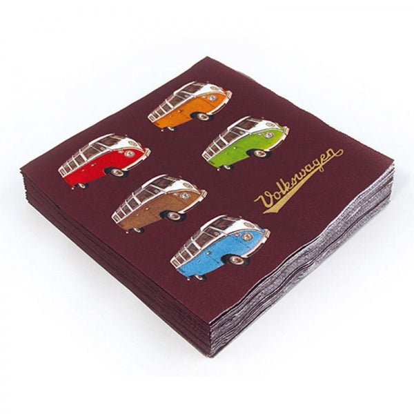 Pack de 20 serviettes papier VW Collection