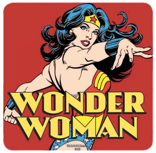 Sous-verre Wonder Woman comics