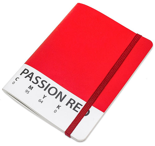 Carnet CMYK rouge 70 pages