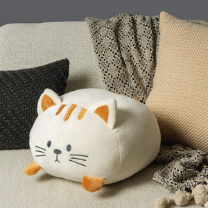 Coussin ultra moelleux Kitty crème